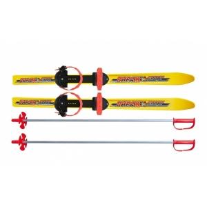 Лыжный комплект ОЛИМПИК Вираж спорт 100 см. с алюмин. палками