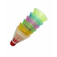 Волан пластмассовый цветной