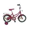 """Велосипед 14"""" 24574 малиновый"""