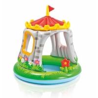 Бассейн INTEX 57122 122-122 Замок с надувной крышей