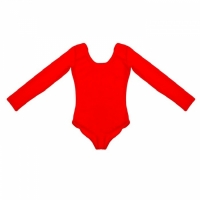 Купальник гимнастический (красный)