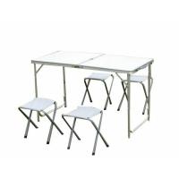 Набор туристической мебели HXT 8812 стол скл.+4 табурета