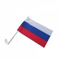 Флажок Российский средний на кронштейне