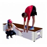 Скамья ГТО для измерения гибкости с линейкой для жимов и приседаний