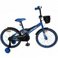 "Велосипед 18"" NAMELESS CROSS 18C1BB-1 черно-голубой"