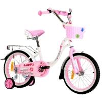 """Велосипед 18"""" NAMELESS LADY 18L1PNW бело-розовый"""