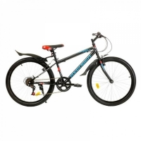 "Велосипед 24"" AVENGER 243 черно-синий"