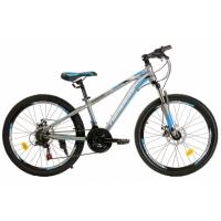 """Велосипед 24"""" NAMELESS S4300D синий/серый"""