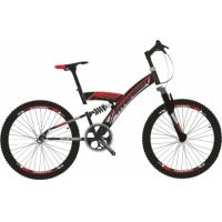 """Велосипед 24"""" AVENGER 243 черно-красный"""