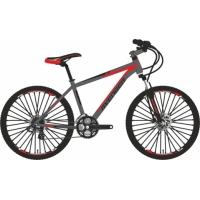 """Велосипед 24"""" AVENGER C243D серо-красный"""