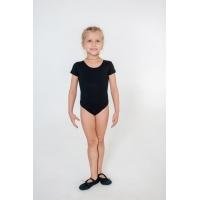 Купальник гимнастический INDIGO SM-189 черный