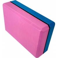 Блок опорный для йоги 2-х цветный