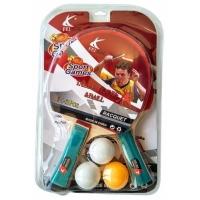 Набор н/тенниса 07534 (2 ракетки+3 мяча)