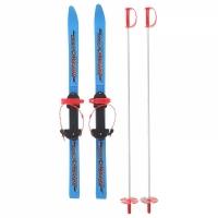 Лыжный комплект ОЛИМПИК Вираж Спорт со стеклопластик. палками