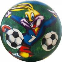 Мяч силиконовый d 230 мм Веселый футбол