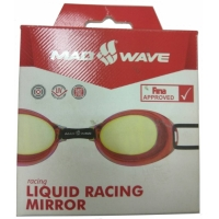 Очки для плавания MAD WAVE 045302 Liquid Racing Mirror