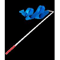 Лента гимнастическая AMELY AGR-201 4 м с палочкой